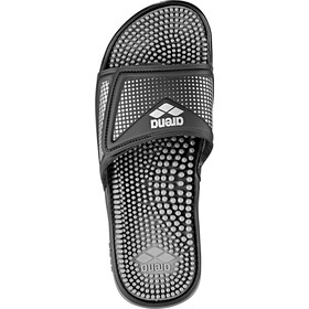 arena Marco VCR Hook Sandals, black-grey-silver